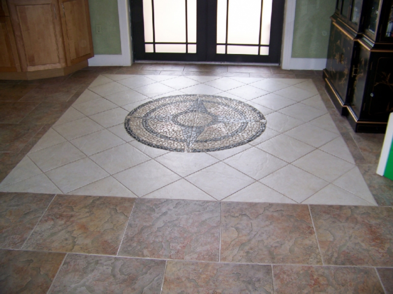 Kitchen Floor Tiles Staggered Or Straight Layout Problem Ceramic